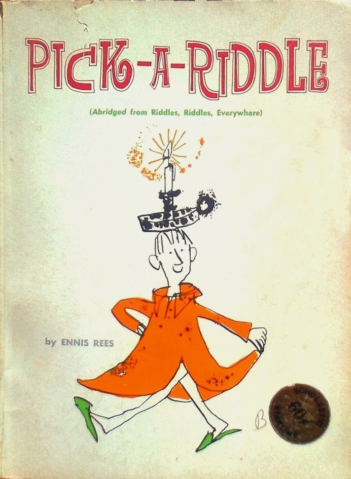 Libro di indovinelli per bambini, illustrato da Quentin Blake