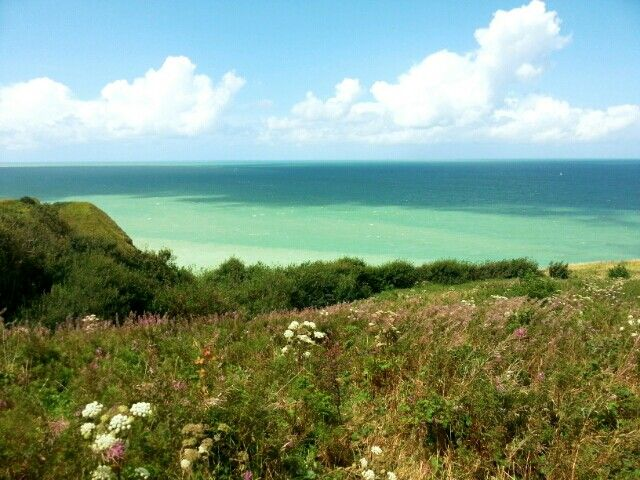views of Normandy from my current trip