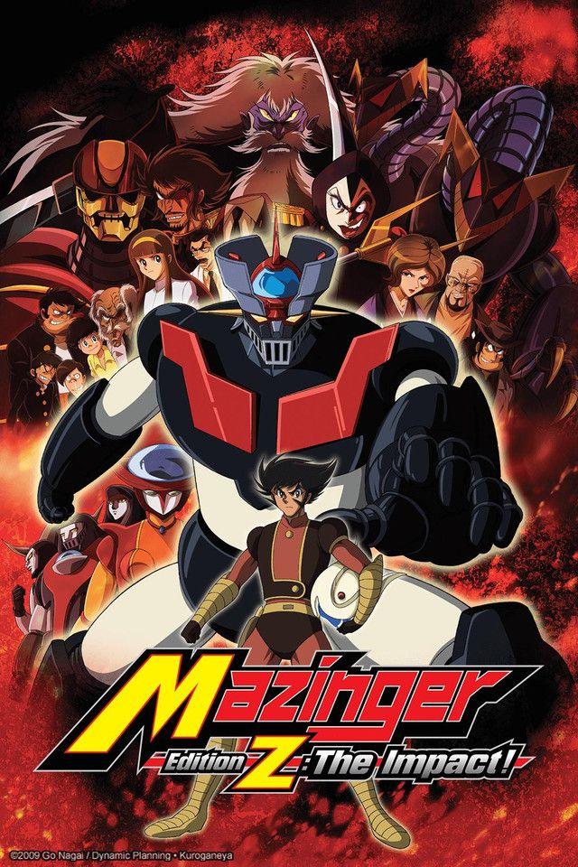 Crunchyroll Adds Mazinger Edition Z Mazinger z, Anime