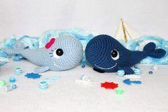 Free amigurumi pattern crochet whale, sea, stuffed toy, #haken, gratis patroon (Engels), walvis, knuffel, speelgoed, zee, #haakpatroon