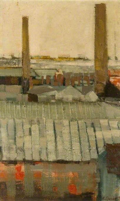 'Industrial Landscape' by John Humphrey Spender, 1959