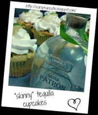 skinny tequila cupcakes