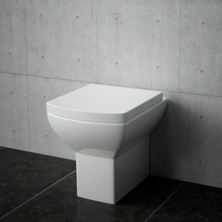 Projection of only 480mm makes this back to wall toilet perfect for cloakroom bathrooms Rimless design is more hygienic & easy to cleanSoft close & quick release toilet seat includedD480 x W365 x H400mm Lifetime guarantee against manufacturing defaults