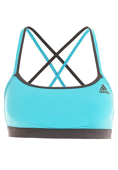 adidas Performance Sport-BH - energy blue/black - Zalando.de