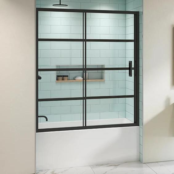 Fleurco Latitude Shower Door Top Enclosure In 2020 With Images Shower Doors Tub Doors Tub Enclosures