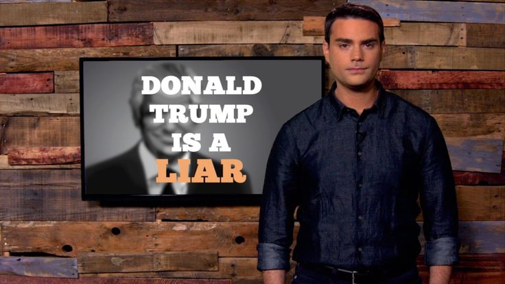Daily Wire Editor-in-Chief Ben Shapiro takes on the myth that Donald Trump is a truth-teller.... FEB 26 2016