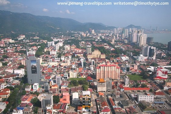 View of George Town from Komtar