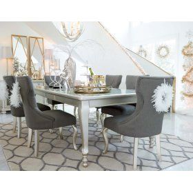 43 best Dining images on Pinterest | Dining tables, Side chairs ...