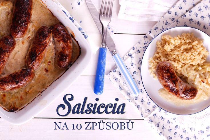 Salsiccia je syrová italská klobása, která vám zpříjemní mnoho chvil v kuchyni podobně nápaditě jako špagety. Navíc se vyznačuje všestranností podobnou mletému masu. Je to prostě velmi inspirativní surovina a stojí za malé kuchařské zastavení....