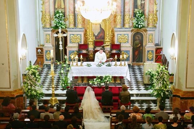 Decoracion Iglesia Para Matrimonio ~ Decoraci?n de Iglesia para boda  Floristeria Casa Leyda  Pinterest