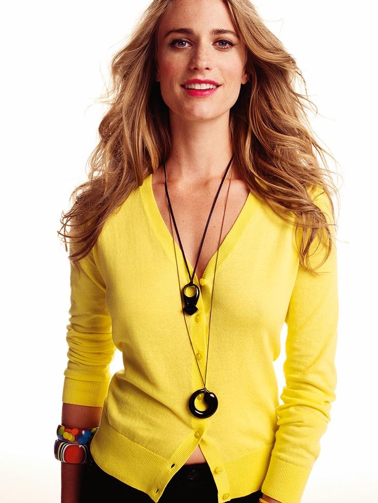 Basic Cardigan - Yellow