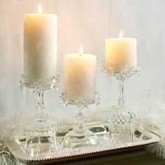 small hurricane candle shades | Candle Arrangement Design Inspiration