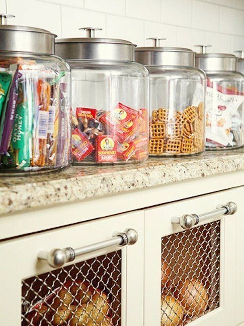 7 Snack Stations and Setup Ideas For Organizing Snacks at Home Kitchen Organization Inspiration | The Kitchn