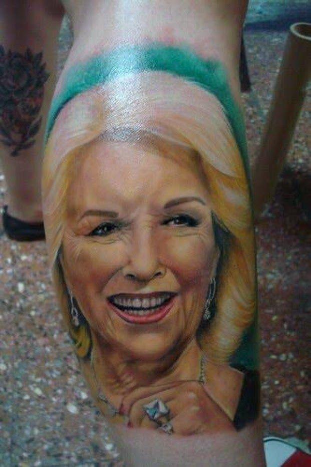 el tatuaje más horrible del día