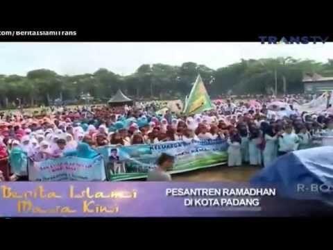 Pesantren Ramadhan di Kota Padang Berita Islami Masa Kini Terbaru 2015