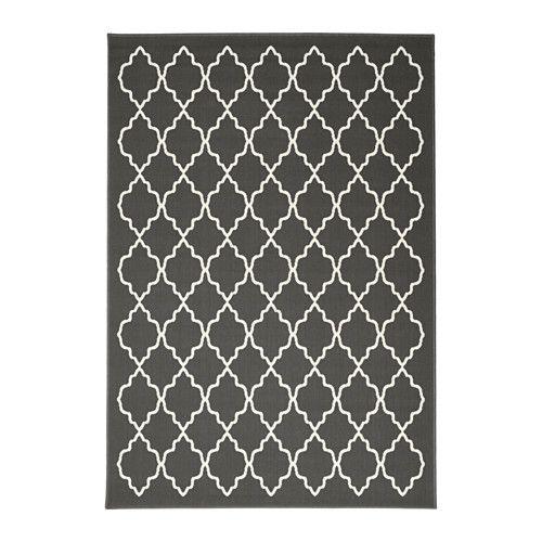 IKEA - HOVSLUND, Tapis, poils ras, Idéal pour être placé sous votre table. En effet, du fait qu'il soit tissé à plat le tapis permet de faire facilement glisser vos chaises et demande un entretien très simple.Ce tapis en fibres synthétiques est résistant, anti-tache et facile d'entretien.Surface plane facile à entretenir avec un aspirateur.