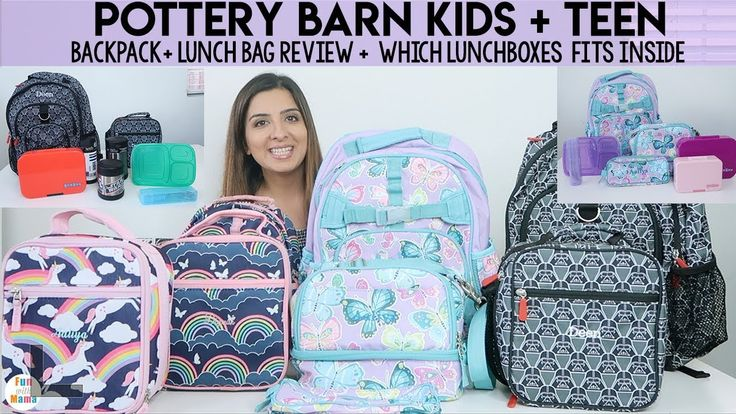 Pottery Barn Kids Backpacks Lunchboxes Pbteen Review