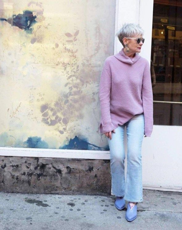46 Pretty Styles Ideas For 50 Year Old Woman Addicfashion Fashion Bloggers Over 40 Fashion For Women Over 40 Over 50 Womens Fashion
