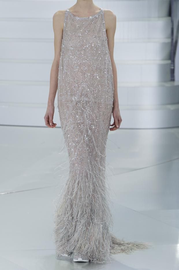 Recuerda que cualquier vestido de alta noche puedes ser tu vestido de novia ¡Y serás única! - Chanel