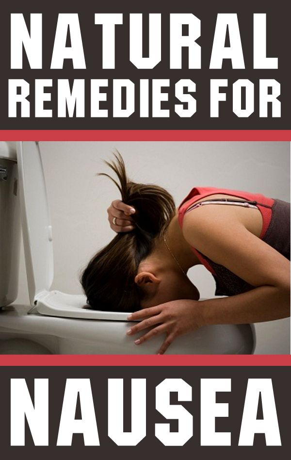 5 Home Remedies For Nausea: ginger, peppermint, baking soda, apple cider vinegar and acupressure / acupuncture.