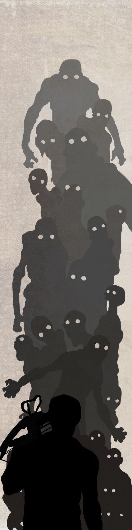 The walking dead, Daryl Dixon by Ank van Stekelenburg, via Behance