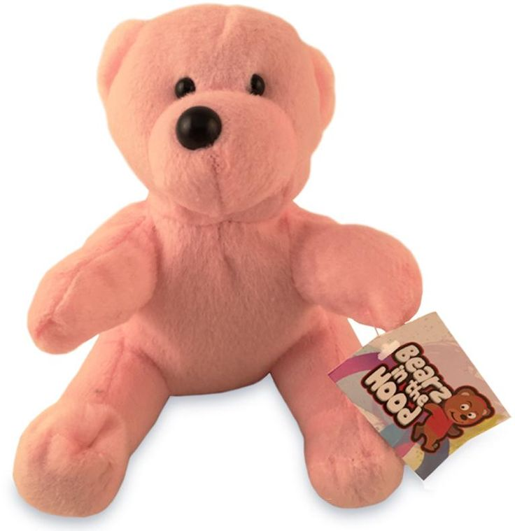 Wholesale Teddy Bear Pink Plush Stuffed Animal Toy (Case of 24)