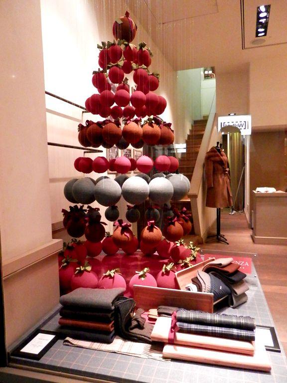 Escaparates navideños de Milan