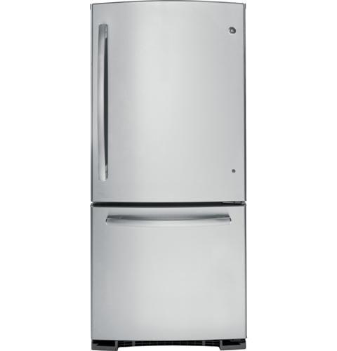 Ge Energy Star 20 3 Cu Ft Bottom Freezer Refrigerator