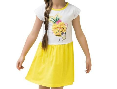 Nice dress for a cute girl with a Pineapple on – Beautiful home,family and kids