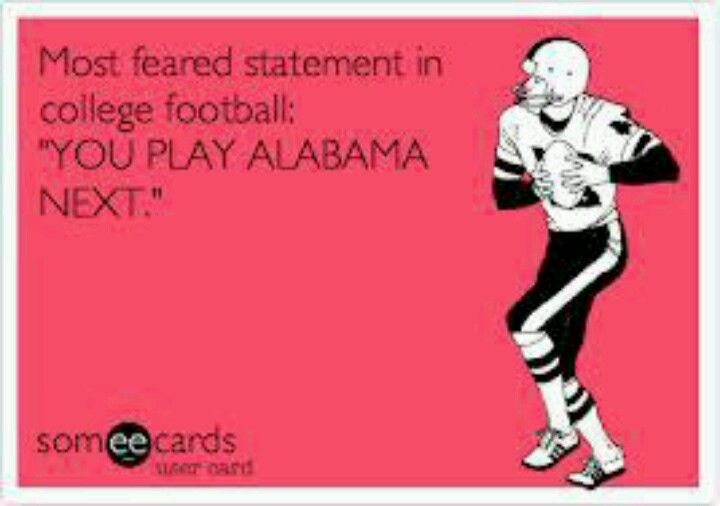 MOST FEARED STATEMENT IN COLLEGE FOOTBALL