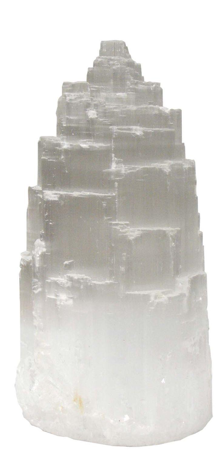 Selenite Tower Crown Chakra Upper Chakras Dissolves