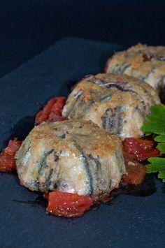 timballini di alici          In questo periodo si trovano alici bellissime, grandi e sode ideali per questo tortino, non ho dosi preci...