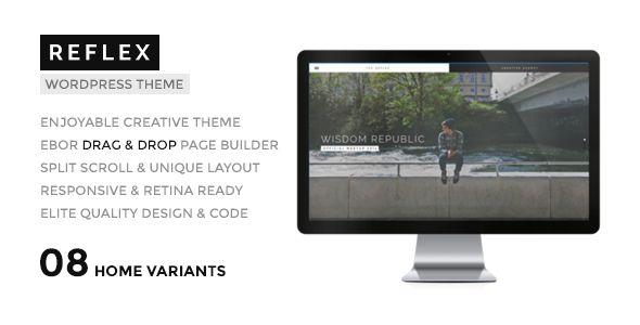 REFLEX - Creatives & Agency WordPress Theme. Live preview: http://themeforest.net/item/-reflex-creatives-agency-wordpress-theme/8763611?ref=designova