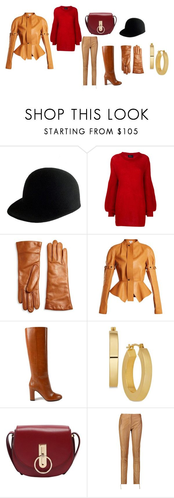 """Untitled #32"" by dadulla on Polyvore featuring Janessa Leone, Lost & Found, Saks Fifth Avenue Collection, Loewe, Aquazzura, Nina Ricci and Roberto Cavalli"