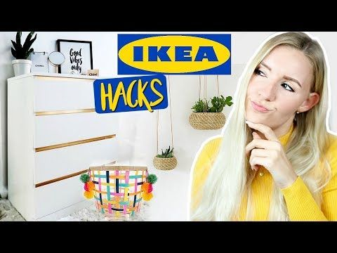 Psst Diese Ikea Hacks Musst Du Kennen Geniale Organisation Gunstige Diy Deko Ideen Youtube Ikea Hacks Diy Deko Ideen Ikea