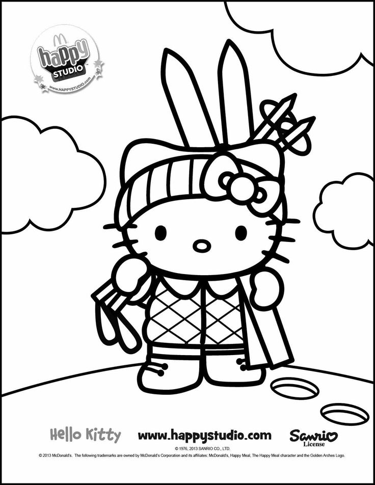 Hello Kitty Superhero Coloring Pages : Best images about värityskuvat hello kitty on