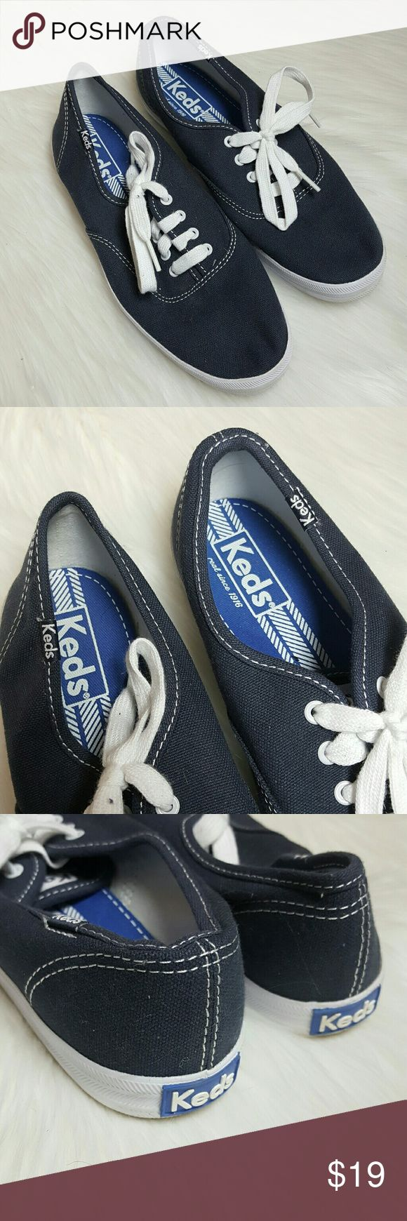 Keds Champion Navy Blue Sneakers Keds Champion Womens Sneakers Size 7 Color Navy Blue Preowned in excellent condition Keds Shoes Sneakers