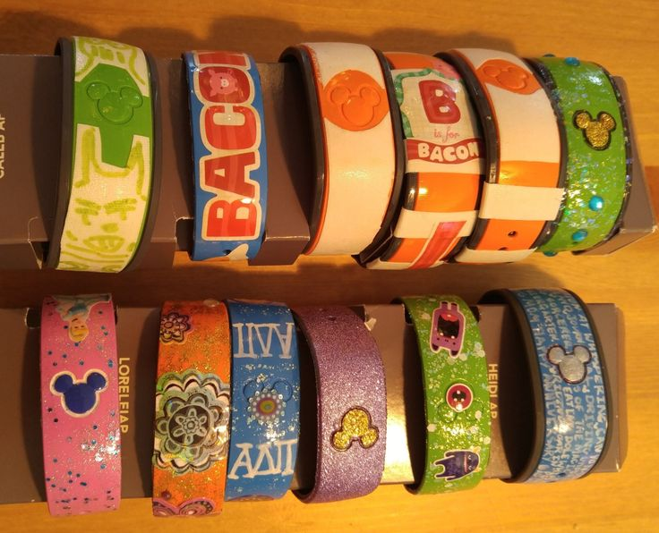 Cheap & Easy Ways to Decorate Magic Bands                                                                                                                                                                                 More