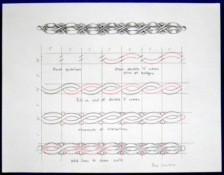 How To Draw Zentangle Patterns | Click on the picture to see more detail.