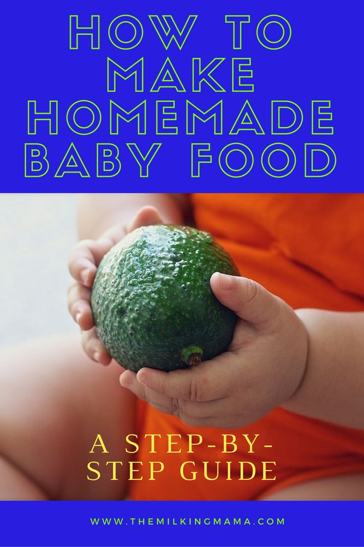 So you've made the decision to make your own homemade baby food, but now you need to know how to actually make it! Check out this step-by-step guide on how to make your own homemade baby food.