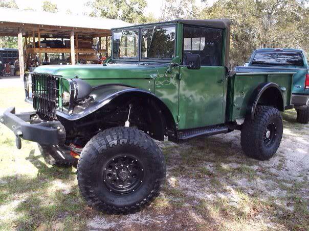 Nice restoration job on this '52 Dodge M37