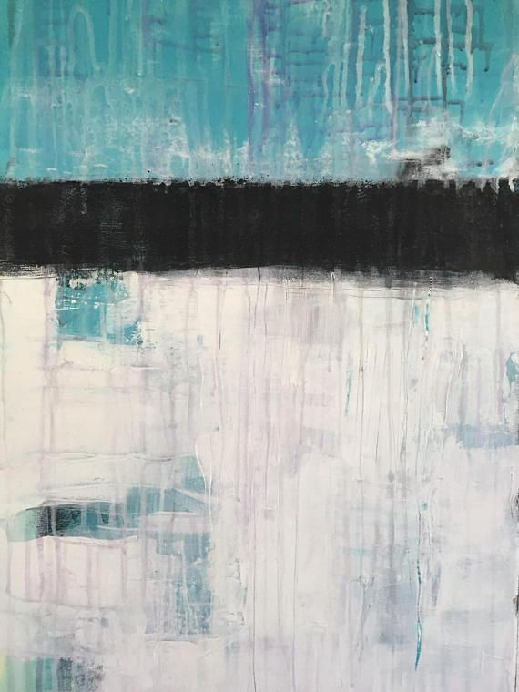 Original abstrakte Kunst Malerei Acryl Leinwand abstract painting