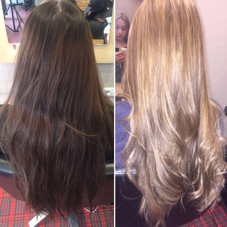 Transformation in blond