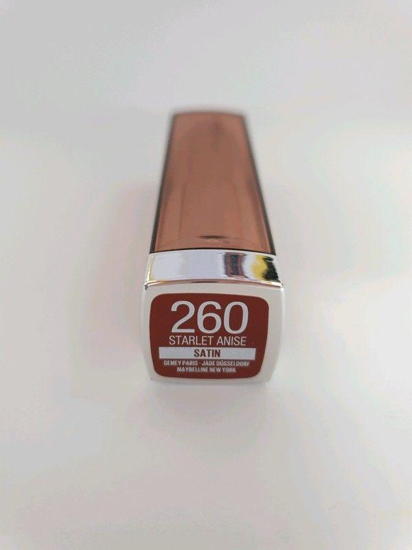 Maybelline Lippenstift Nr. 260 – Sternanis – Mode und Kleiderkreisel