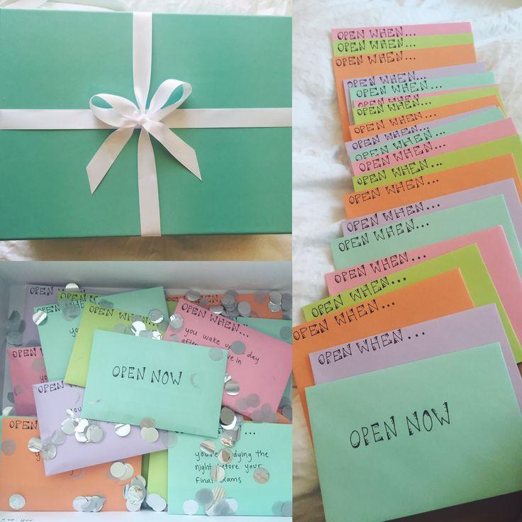 Open When Envelopes For Your Best Friend: 17+ Best Ideas About Open When Envelopes On Pinterest