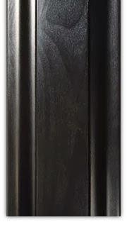 warna finishing furniture hitam gloss