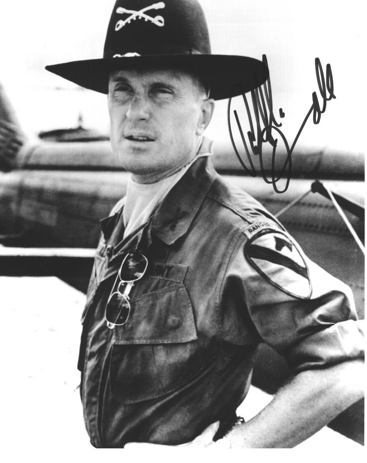 Robert Duvall -- Apocalypse Now. Charlie don't surf!