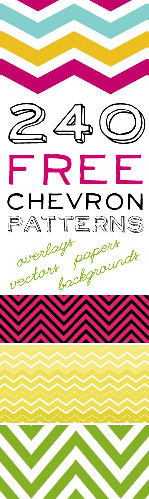240+Free+Chevron+Patterns!++