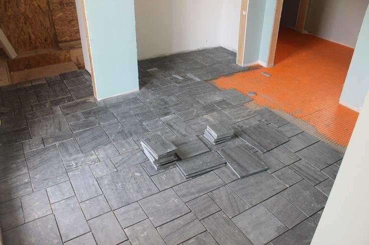 Vermont slate flooring care gurus floor for Vermont slate colors