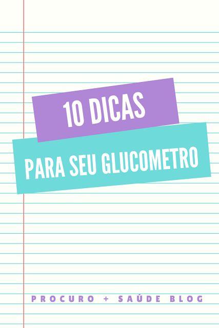 10 dicas para cuidar de seu glucometro